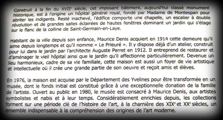 Vitrail Jeanne d'Arc de la chapelle du musée Maurice Denis