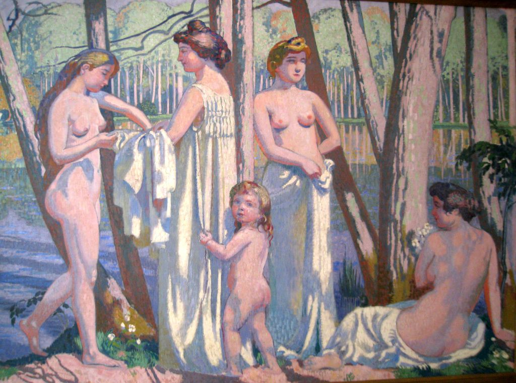 Maurice Denis, le printemps dans la forêt