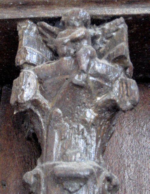 Portail latéral gauche, église Notre-Dame de Pontoise