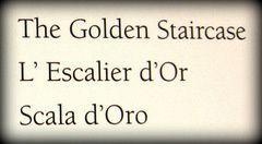 L'escalier d'or du Palais des Doges (5/5)