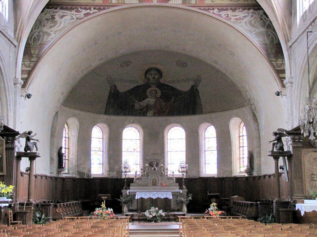 Anges de l'église Notre-Dame de Pontoise