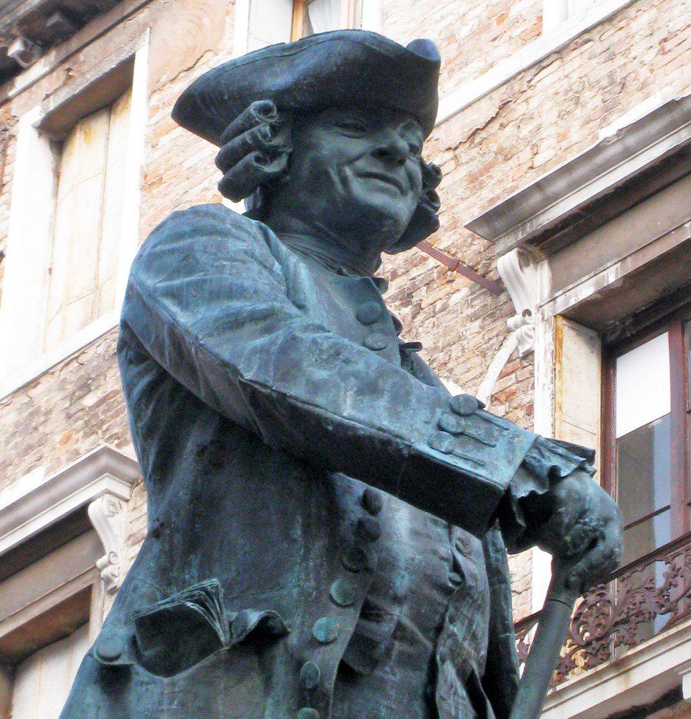 Statue de Carlo Goldoni, Venise