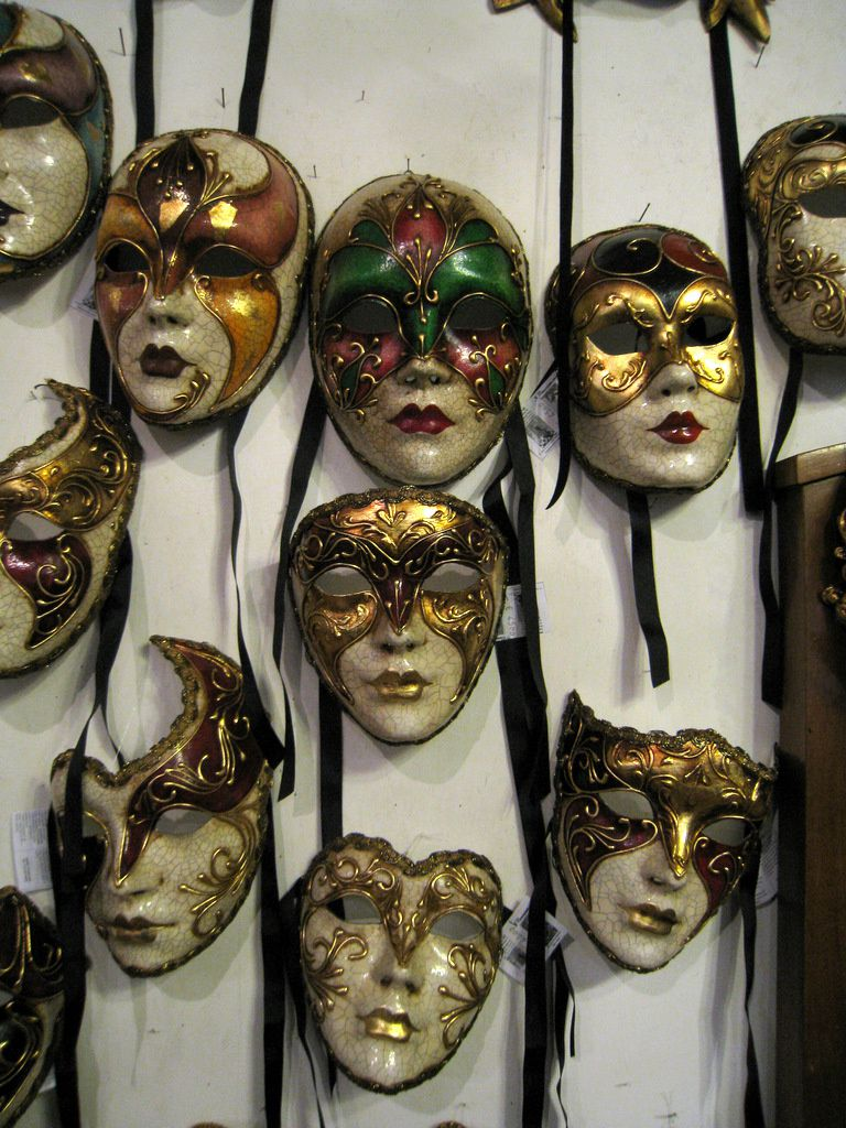 Boutique de masques à Venise