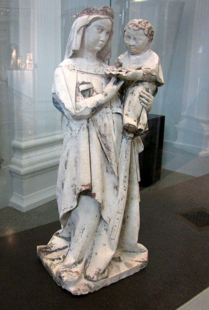 La Vierge et l'Enfant, musée de Picardie