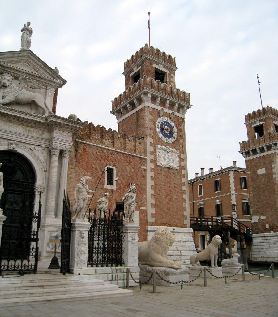 Les lions de l'arsenal de Venise