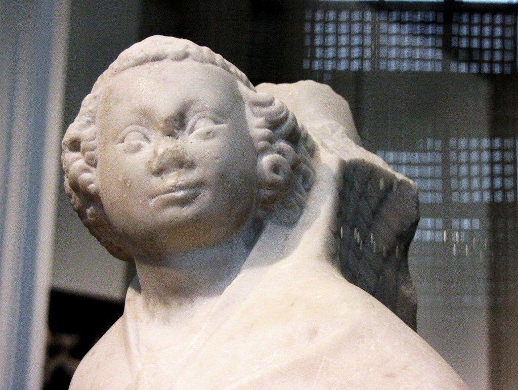 Ange tenant un phylactère, musée de Picardie