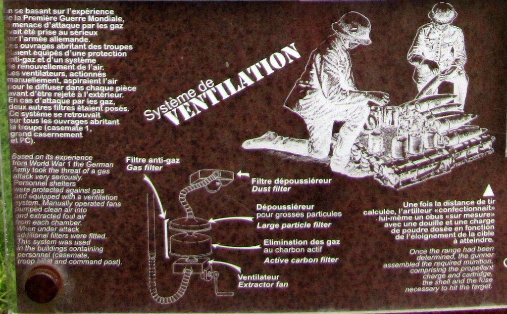 Batterie de Melville, soutes à munitions et grand casernement
