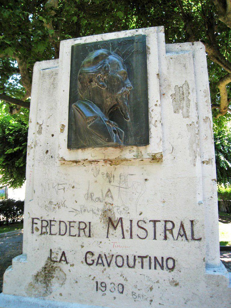 Hommage à Frédéric Mistral, Dignes-les-Bains