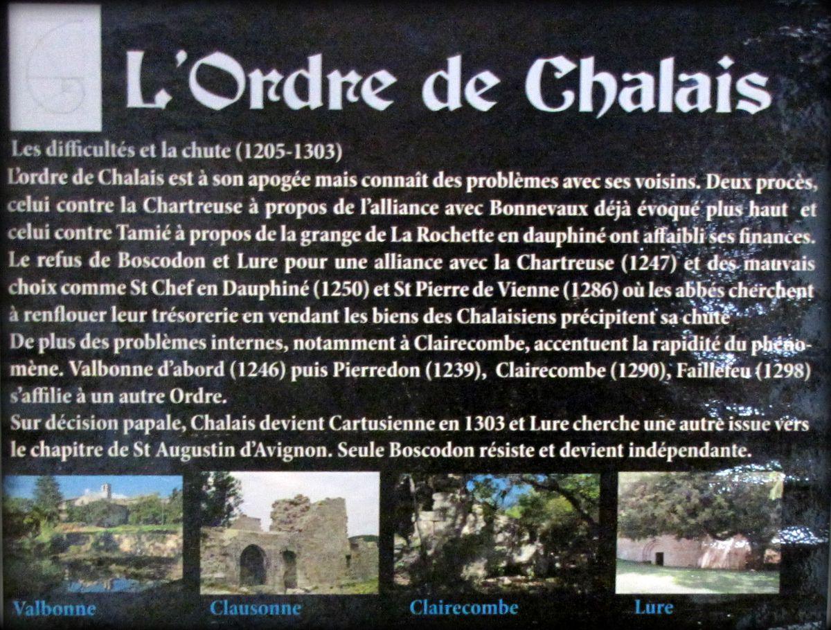 Maître-autel de l'Abbatiale de l'abbaye de Boscodon (Ordre du Chalais)