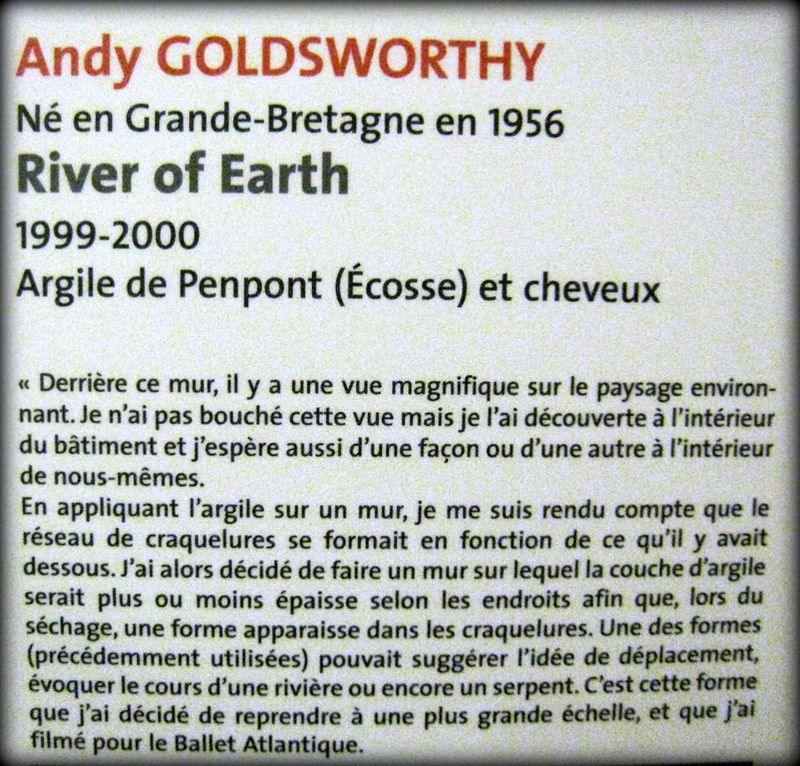 Andy Goldsworthy, River of Earth