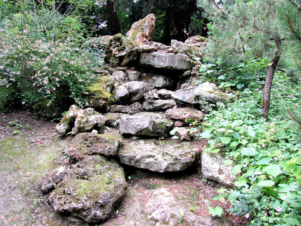 Rocailles (1/2), parc du château de Monte Cristo