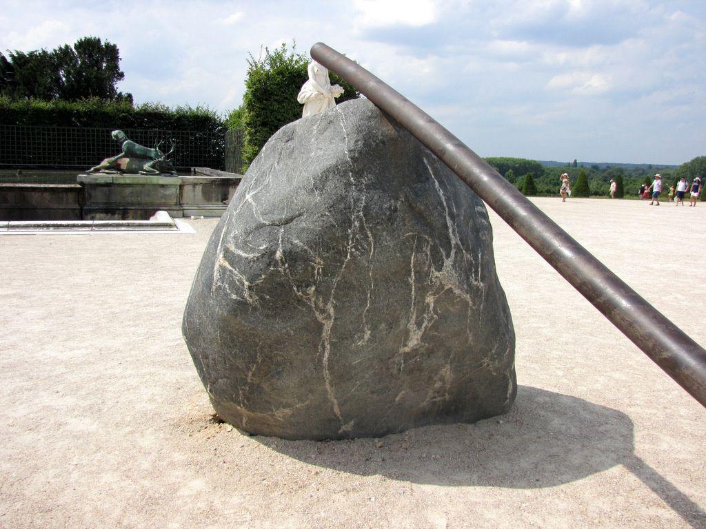 Lee Ufan Versailles, Le Bâton du Géant