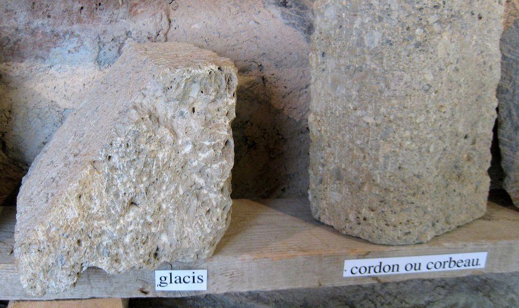 Travail de la pierre, abbaye de Boscodon