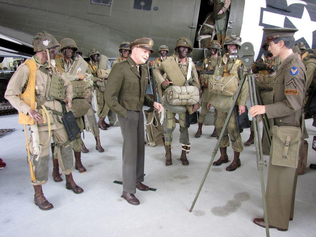 Général Dwight D. Eisenhower, musée Airborne