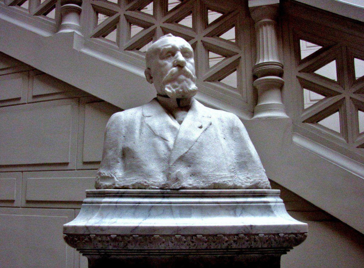 Auguste Rodin, buste de Pierre Puvis de Chavannes
