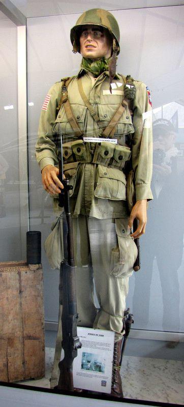 Soldat 505th PIR (Parachute Infantry Regiment), musée Airborne