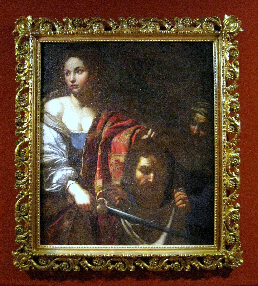 Judith présente la tête d'Holopherne, Musée Pierre Gassendi