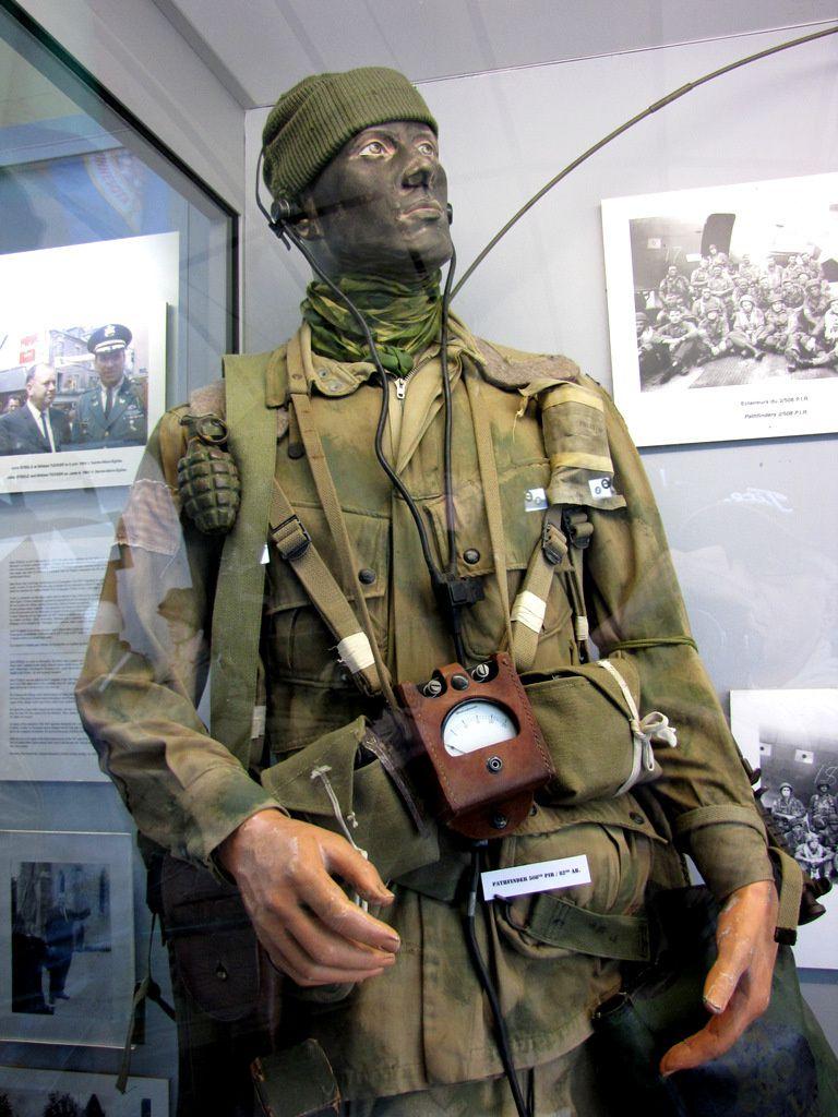 Pathfinder (éclaireur) 508th PIR (Parachute Infantry Regiment), musée Airborne