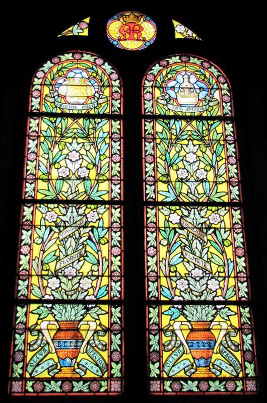 Vitraux, église Notre-Dame de Pontoise
