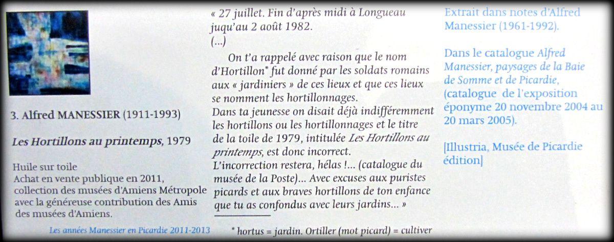 Les marais picards, Alfred Manessier