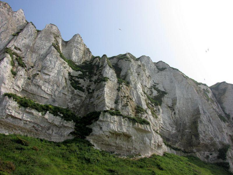 Le haut des falaises non loin du funiculaire