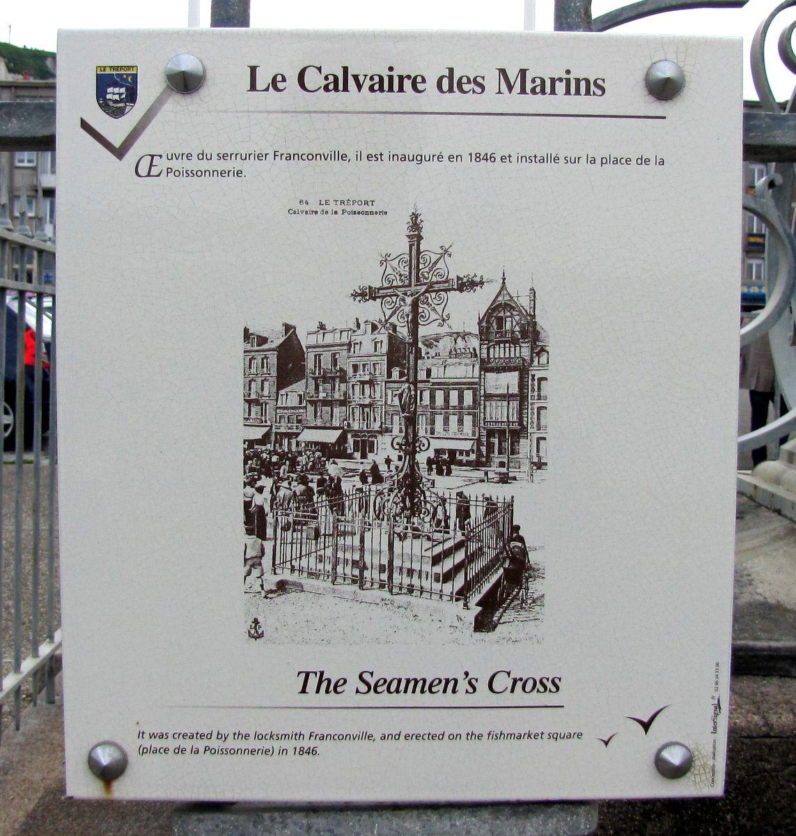 Le Calvaire des Marins, Le Tréport