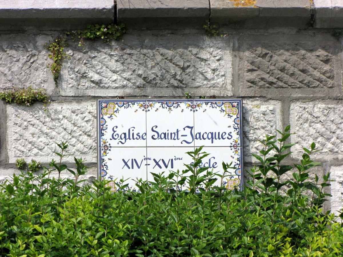L'église Saint Jacques (le Majeur) du Tréport, le clocher