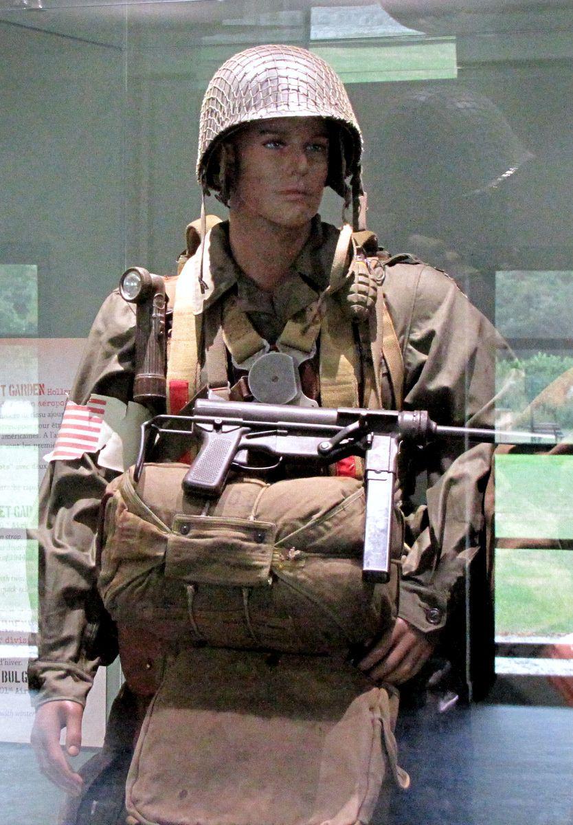 Tenue de parachutiste US de l'Opération &quot&#x3B; Market Garden &quot&#x3B;