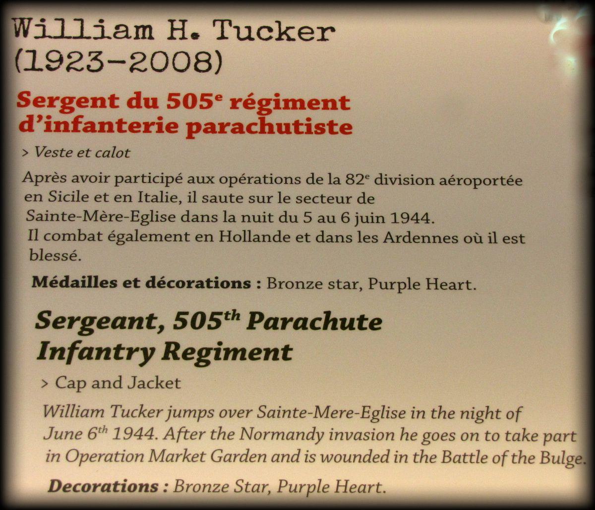 Veste et calot de sergent d'infanterie parachutiste US