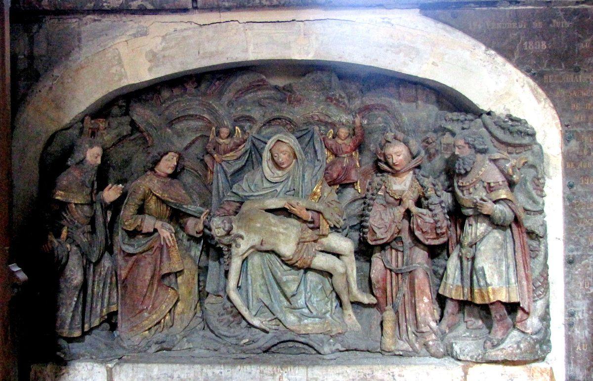 Petite chapelle de la Sainte Vierge, église Saint Jacques du Tréport