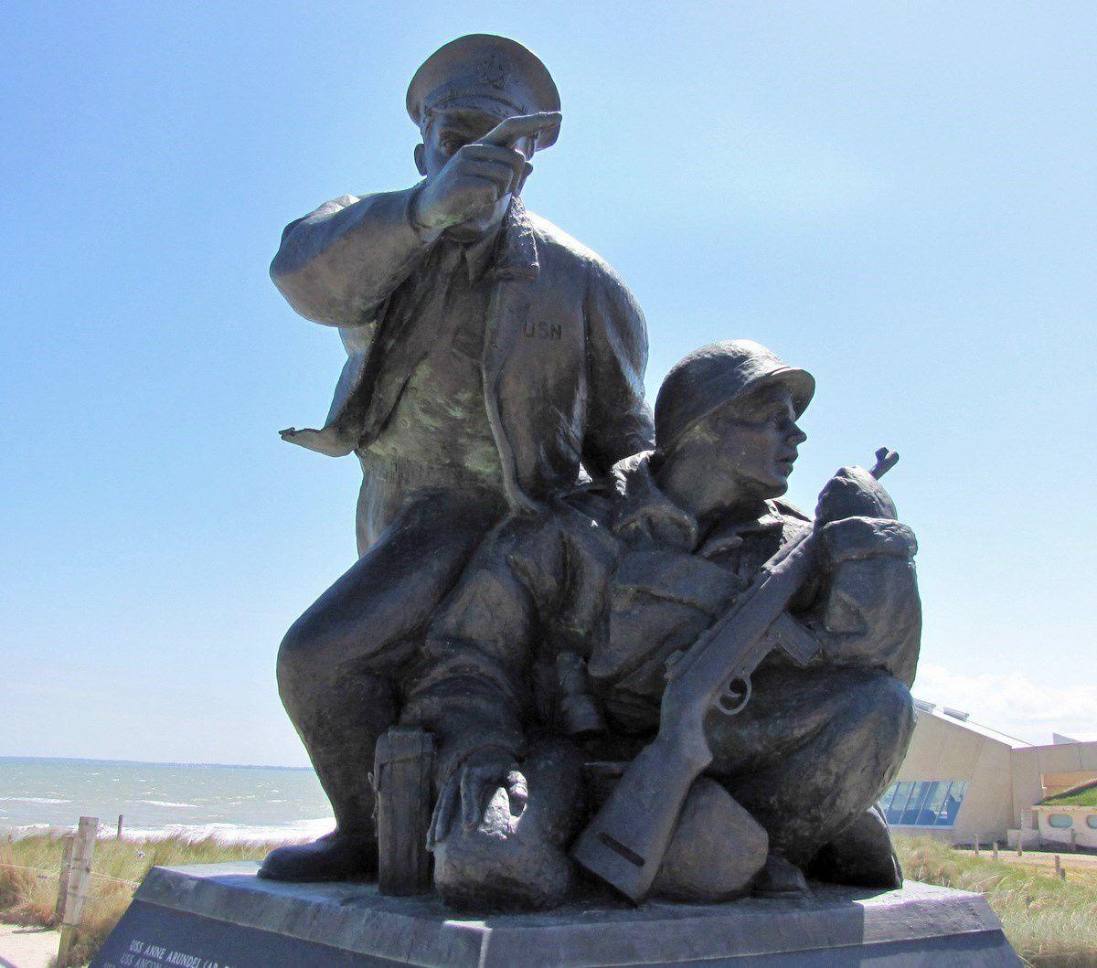 Monument de l'US Navy Normandy, Utah Beach