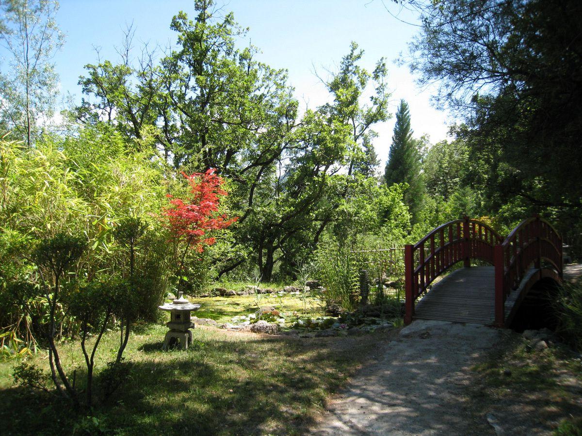 Jardin Kamaishi, musée-promenade de Digne-les-Bains