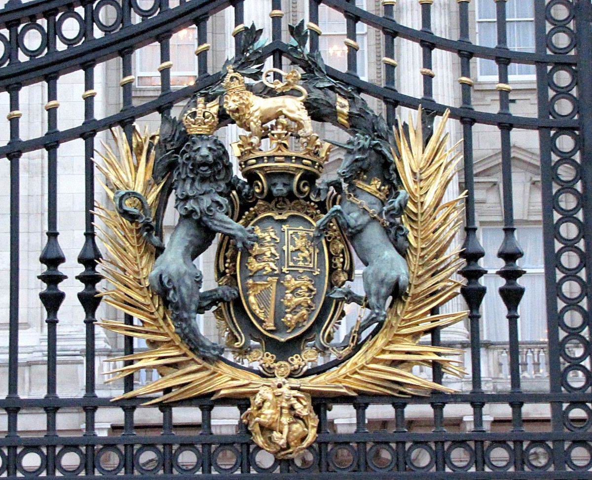 Portails de Buckingham Palace (2/2), Londres