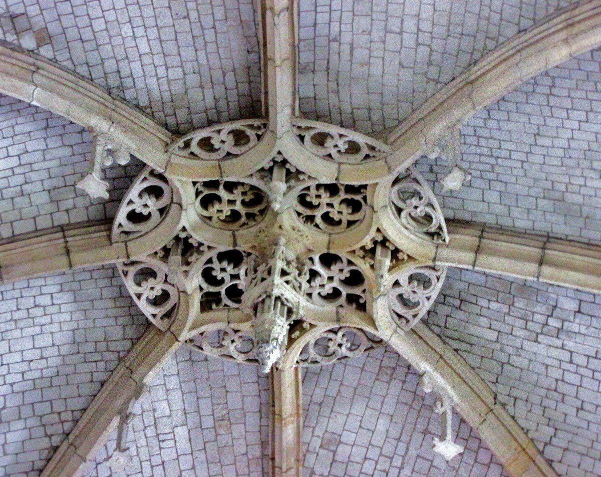 Clefs de voûte (2/2), Eglise Saint Jacques du Tréport