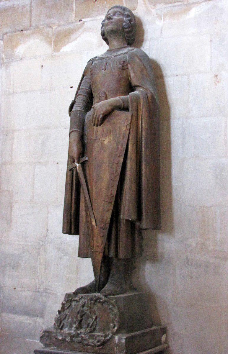 Ste Jeanne d'Arc et St Joseph, Eglise Saint Jacques du Tréport