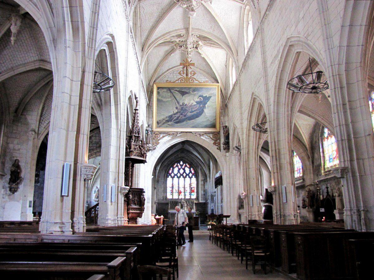 Chapelle de la Vierge, Eglise Saint Jacques du Tréport