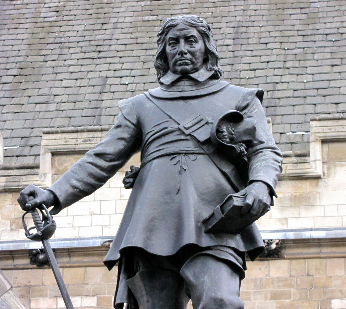 Statue d'Olivier Cromwell, Londres