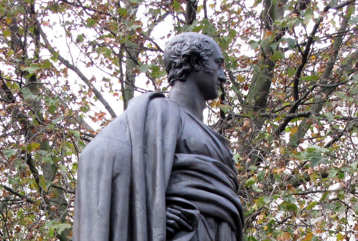 Statue de George Canning, Londres