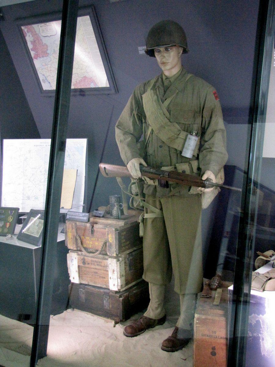 Soldat de la 90e division d'infanterie US
