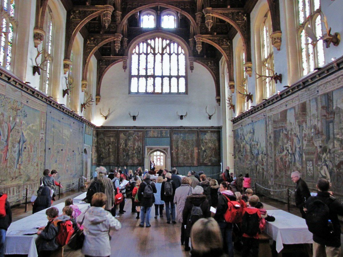Le Grand Hall d'Henry VIII, Hampton Court Palace