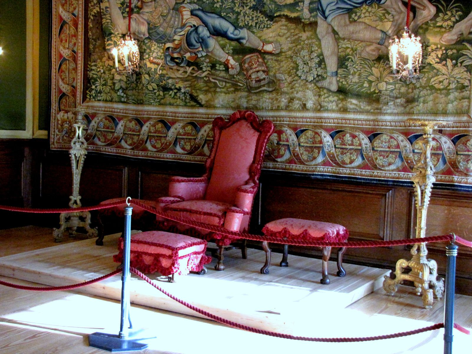 Appartements du roi , Hampton Court Palace