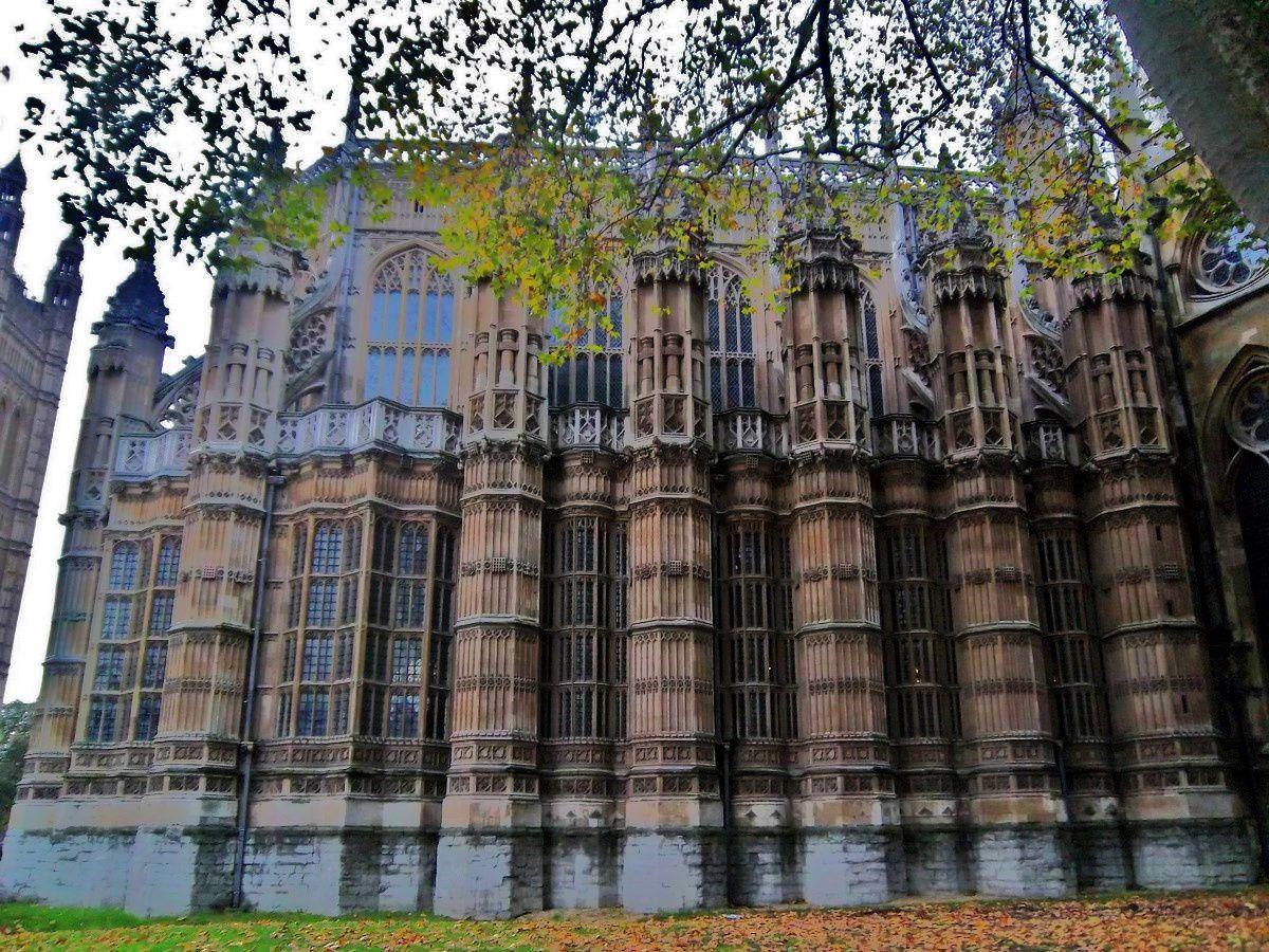 Westminster abbey et son cloître, Londres