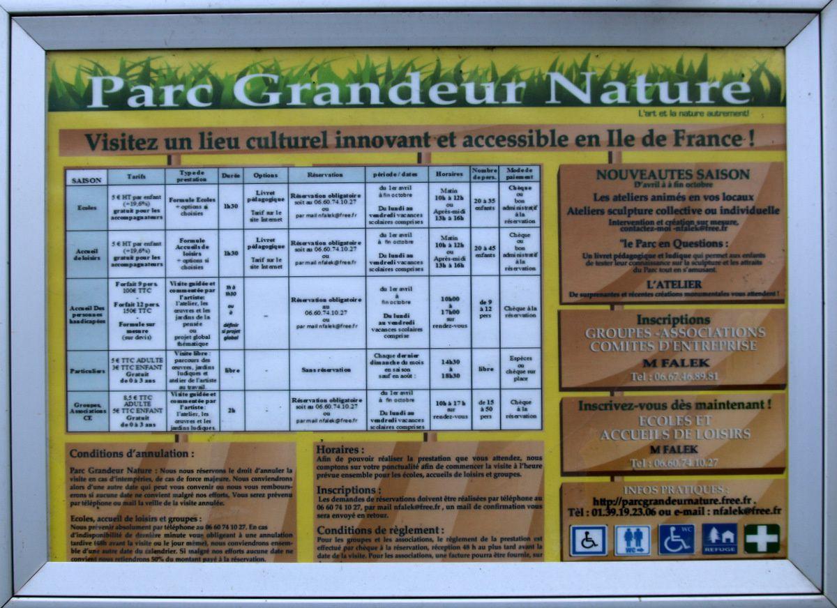 Parc Grandeur Nature, sculptures (2/3)