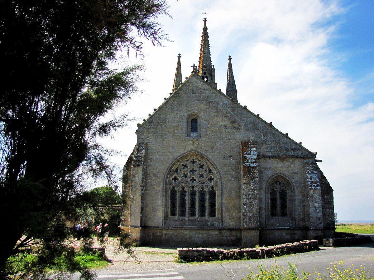 La chapelle et le calvaire de Tronoën