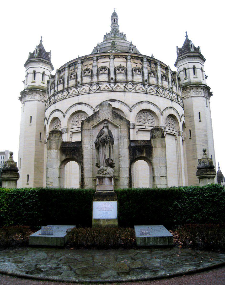 Tombes des parents de Ste Thérèse, basilique de Lisieux