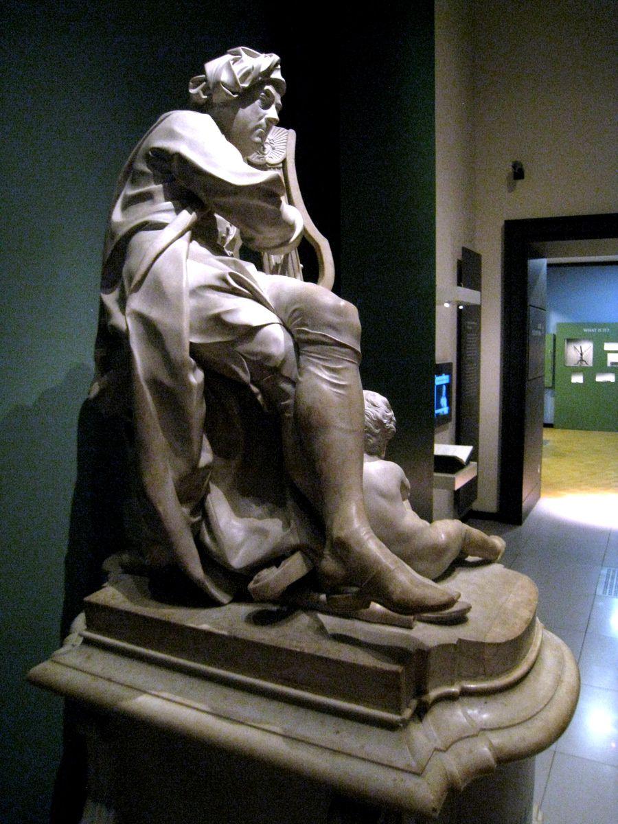 Statue de George Frideric Handel par Louis François Roubillac