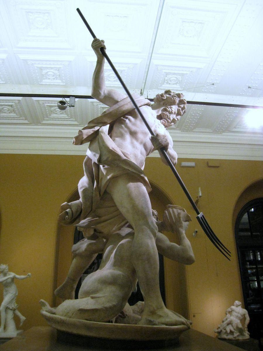 Neptune et Triton, sculpture de Giovanni Lorenzo Bernini