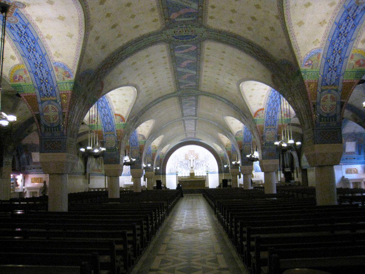 Chapelle Sainte Thérèse de la crypte de la basilique de Lisieux