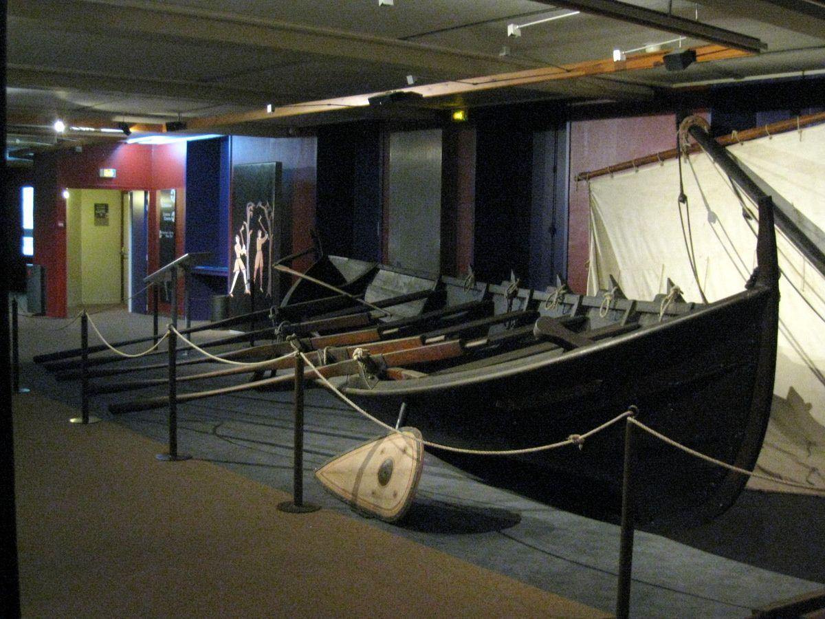 Thorvald (bateau viking), musée de la Tapisserie de Bayeux