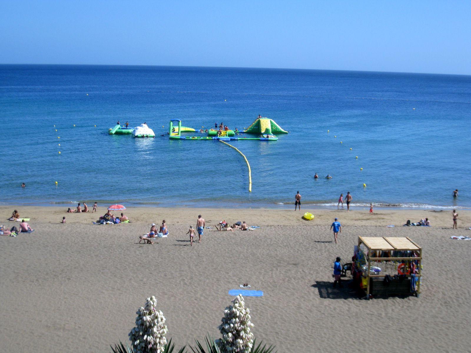 Ile de Lanzarote (Canaries), plages à Puerto del Carmen
